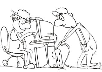 Datorspeciālisti